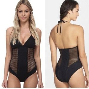 VITAMIN A Celeste Net Swimsuit-Size XS